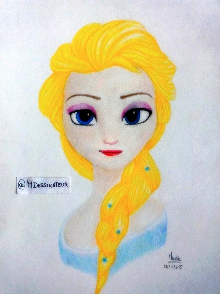 Frozen (Disney) by MisterDessinateur45